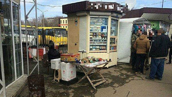 НаМосковском проспекте торговали сигаретами из«ДНР»