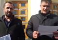 Мы торгуем или воюем? Митинг в поддержку блокады Донбасса в Виннице. Видео