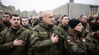 День украинского добровольца в Киеве