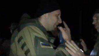 Столкновения на блокпосту в Славянске