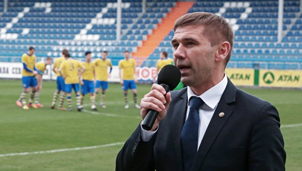 Президент Крымского футбольного союза Юрий Ветоха. Архивное фото