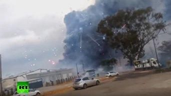 Склад фейерверков взорвался в Израиле