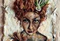 Ксения Платанова. Автопортрет из сельди
