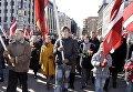 Шествие легионеров СС в Риге. Архивное фото