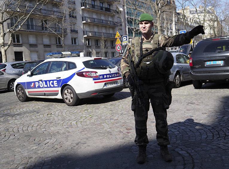 Взрыв в парижском офисе МВФ