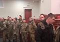 Ветераны АТО силой прорвались на заседание Киевсовета. Видео