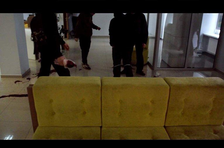 Атака на Сбербанк в Чернигове