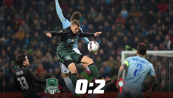 Матч 1/8 Лиги Европы Краснодар - Сельта