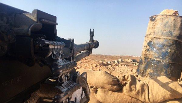 Огневая позиция сирийской армии. Архивное фото