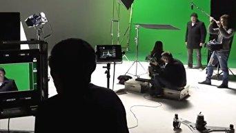 Жан Рено принял участие в съемках украинского фильма Полина. Видео