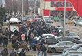 Международную трассу Киев-Варшава перекрыли копатели янтаря