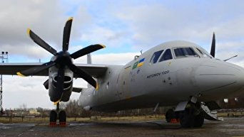Презентация ГП Антонов самолета Ан-132D. Видео