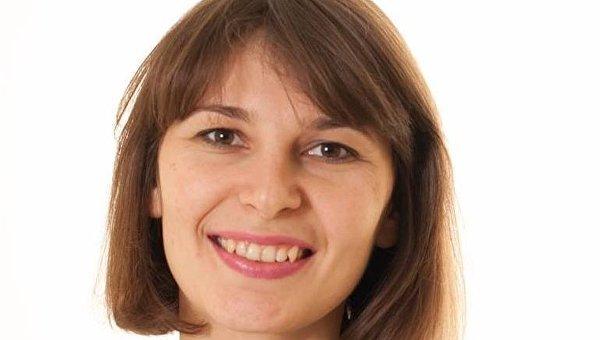 Исполнительный директор центра противодействия коррупции Дарья Калинюк. Архивное фото