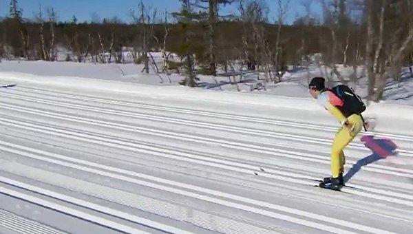 Лыжника изНорвегии Сундбю сбил снегоход впроцессе гонки