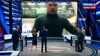 Кива выступил на российском ТВ