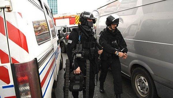 Полиция Парижа в аэропорту. Архивное фото