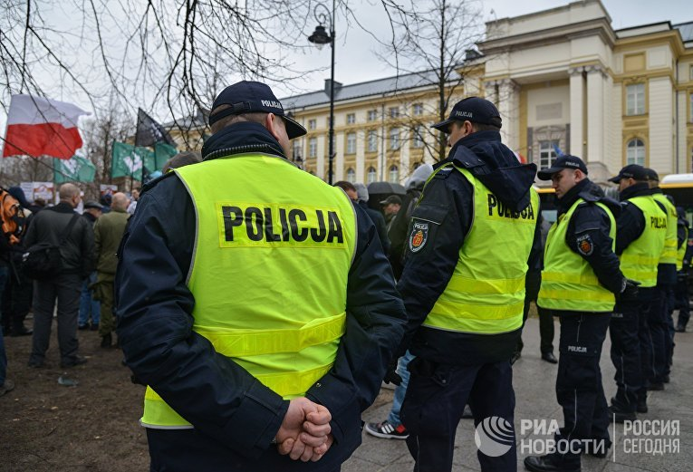 ВПольше протестуют против приезжих с государства Украины