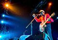 Легендарный американский певец и композитор Чак Берри