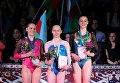 Украинка Диана Варинская завоевала золото на этапе Кубка мира по спортивной гимнастике