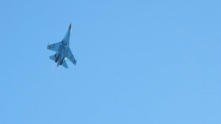 ВВС Украины отрабатывают тактические приемы ведения воздушного боя