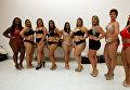 Модели Plus Size в нижнем белье вышли на подиум Fashion Weekend в Бразилии