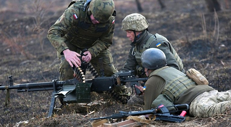 Учения сухопутных войск