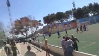В Испании драка родителей сорвала детский футбольный матч