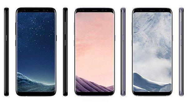 Стали известны цветовые варианты Samsung Galaxy S8 и S8 Plus