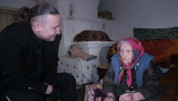 Старейшая жительница Украины - Кристина Нагорная