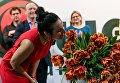 На выставке Flower Expo Ukraine 2017 презентовали новый сорт тюльпана, названного в честь певицы Джамалы