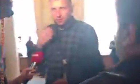 Конфликт Парасюка и Дзиндзи в кулуарах Рады