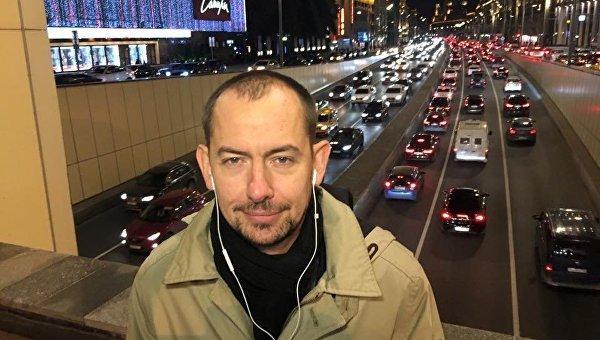 Журналист Роман Цымбалюк