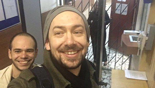 Журналист Роман Цимбалюк