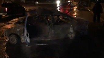 ДТП на Днепровской набережной в Киеве. Видео