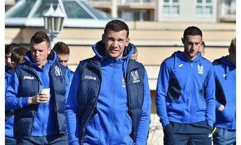 Командные сборы Национальной сборной Украины по футболу в Австрии