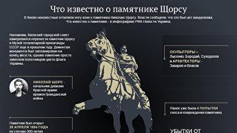 Что известно о памятнике Щорсу. Инфографика