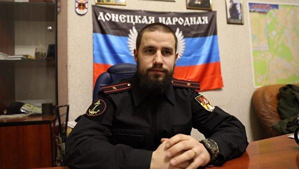 Командир батальона Спарта вооруженных сил самопровозглашенной Донецкой народной республики Владимир Жога