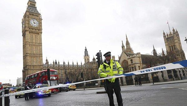 Стрельба у британского парламента