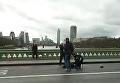Стрельба и наезд на людей в Лондоне: первые кадры с места ЧП. Видео