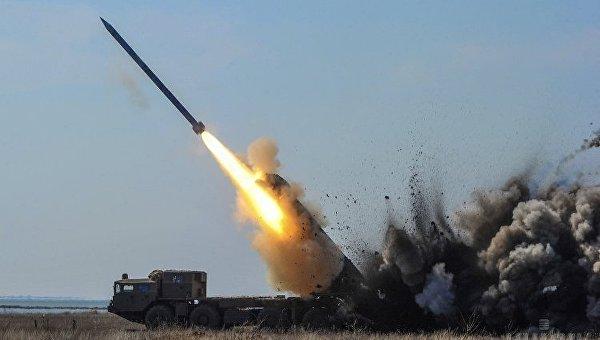 Испытания ракет украинского производства в Одесской области