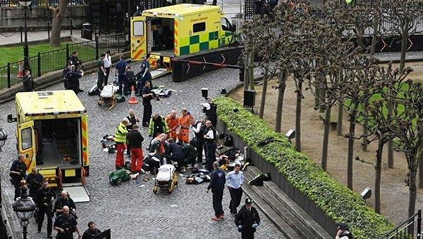 ВВС продемонстрировал первые мин. теракта у английского парламента— Атака встолице Англии