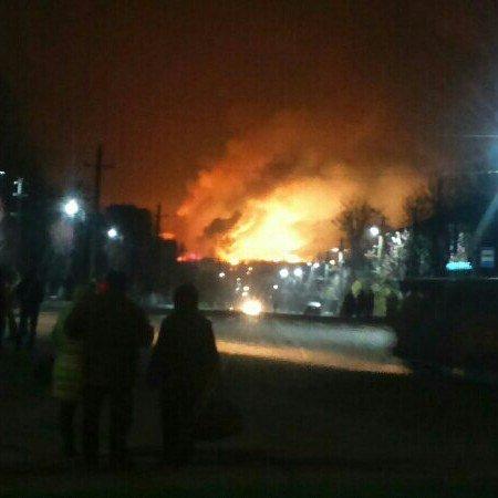 Бессонная ночь в Балаклее: на Харьковщине взрывались склады с боеприпасами (ВИДЕО)
