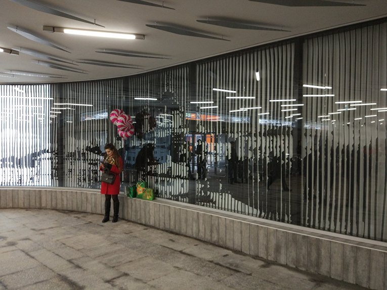 Станция метро Левобережная после ремонта