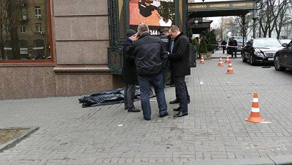 В центре Киева застрелили двух человек