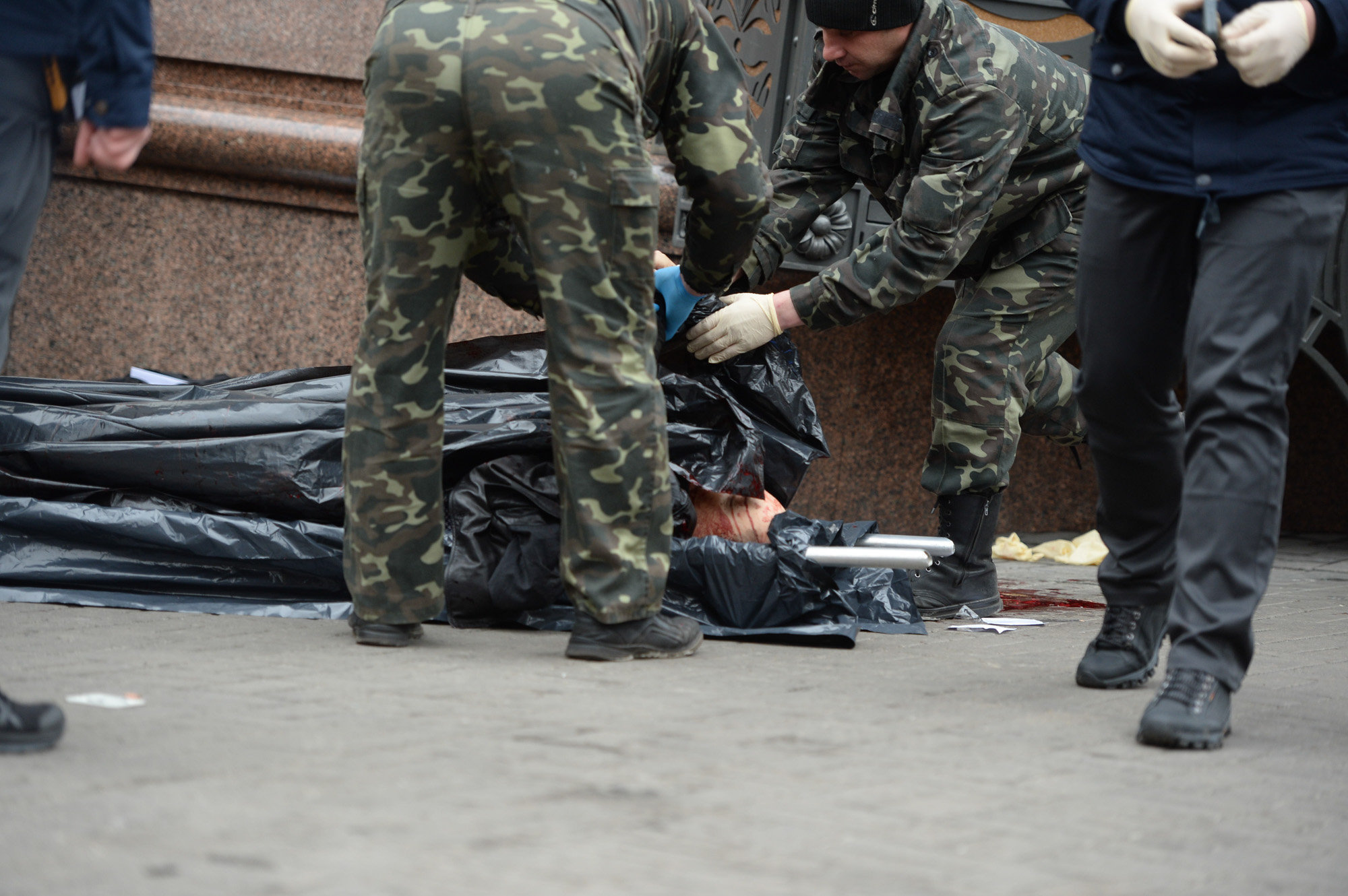 Опубликовано видео убийства Вороненкова