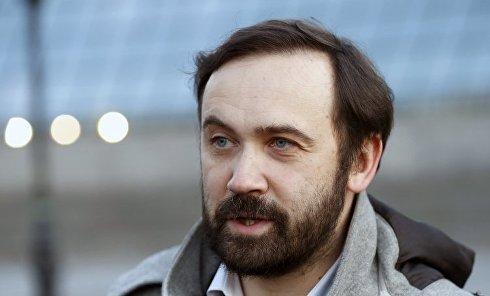 Экс-депутат Госдумы РФ Илья Пономарев