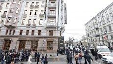 Убийство Дениса Вороненкова в Киеве. Место происшествия