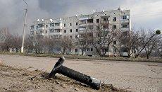 Снаряды в жилом секторе Балаклеи