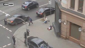 Появилось новое видео первых минут после убийства Вороненкова
