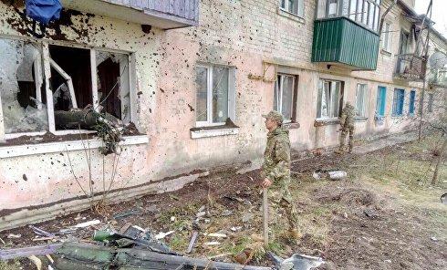 Последствия взрывов в Балаклее и окрестностях